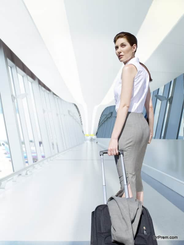 suitcase for your next business trip