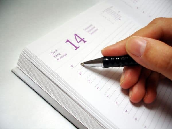scheduling your plan