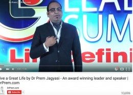 Dr Prem Speech